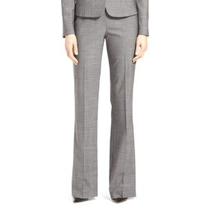 Hugo Boss Tulea Stretch Wool Suiting Pants